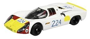 Schuco 450362100 Porsche 907 n.º 224, Targa Florio 1968, Vic Elford-Umberto Maglioli - Coche a Escala 1:43 en Color Blanco, edición Limitada de 1000 Unidades