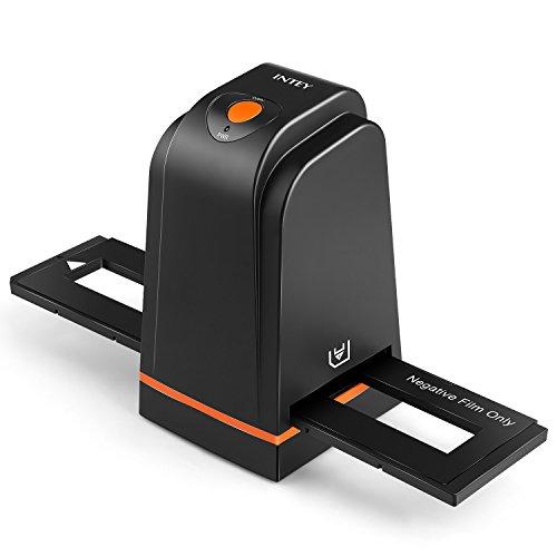 INTEY Escáner de Negativos y Diapositivas de Alta Resolución Escáner de Foto para Negativos y Diapositivas