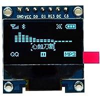 TOOGOO 0,96 Pulgadas SPI Serial 128X64 Pantalla LCD OLED SSD1306 para 51 STM32 Arduino Color de Fuente Amarillo y Azul