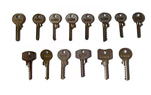 Preisvergleich Produktbild Picklock24 Schlagschlüssel-Set (14 Schlüssel)