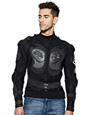 Flomaster Fox Riding Gear Body Armor with Stretchable Fabric (Black, X-Large)