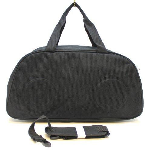 Preisvergleich Produktbild HUGO BOSS PARFUMS MUSIC-SI BOOM SPEAKER DESIGN SMALL HOLDALL BAG