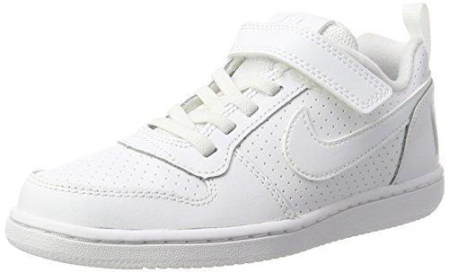 Nike Court Borough Low (PSV), Zapatillas para Niños, Blanco White, 33.5 EU