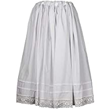 f3bf02bb6b Regional algodón Blanca de Regional para Mujer Refajo Enagua Enagua Traje  combinación para 8EqAdx