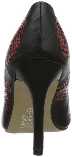 Iron Fist Sugar Hiccup Heel, Scarpe col tacco donna Nero (Nero (nero))