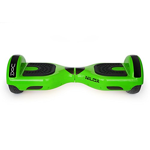 Nilox Hoverboard, Unisex Adulto, Verde (Lima), 25.7 x 28 x 65.5