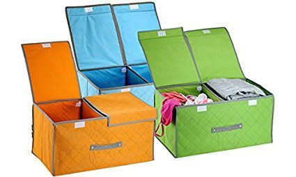 Askyl cloth storage boxes / cloth organizer storage box / cloth bags for storage