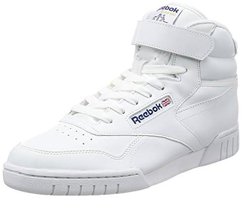 Reebok Ex-O-Fit HI, Herren Hohe Sneakers, Weiß (Int-White), 42.5 EU