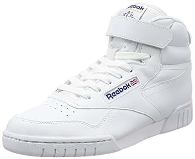 Reebok - Ex-O-Fit Hi, Sneakers Unisex, Bianco, 37.5 EU