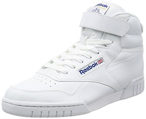 Reebok Ex-O-Fit Hi, Baskets Adulte Mixte Blanc