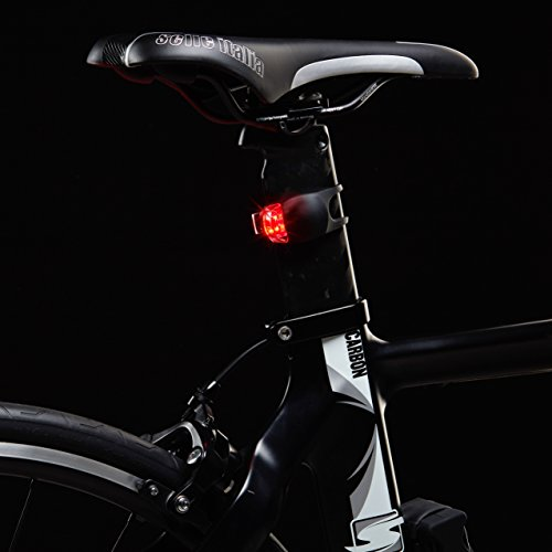 FX FFEXS Bike Lights Front and Back - Bike Lights Set of Four - Bright Bicycle Lights Front Rear with Waterproof Silicone Housing - Compact & Easy to Install Cycling Lights for Mountain Roads and Night Cycling - Brighter than Lights on Helmet & Wheels Accessories - Not Rechargeable