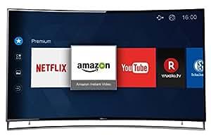 Hisense LTDN65XT910 171,2 cm (65 Zoll) Curved Fernseher (Ultra HD, Triple Tuner, DVB-T2 HD, Smart TV)