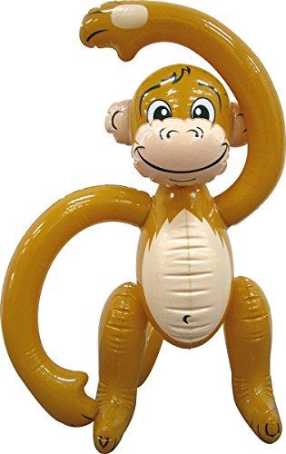 Aufblasbarer Affe von Folat // Deko Mottoparty Party Geburtstag Kindergeburtstag aufblasbar inflatable (Affe Aufblasbarer)
