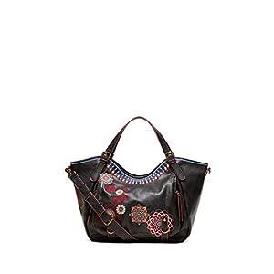 Desigual CHANDY ROTTERDAM Handtaschen damen Schwarz Umhängetaschen