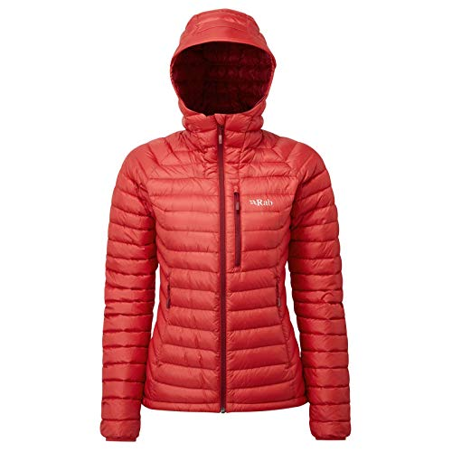 RAB Damen Microlight Alpine Jacke Isolationsjacke (Alpine Jacke Microlight)