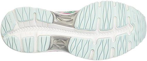 Asics Gel-Cumulus 18 Gs, Chaussures de Sport Mixte Enfant Multicolore (Soothing Sea/Sport Pink/Cockatoo)