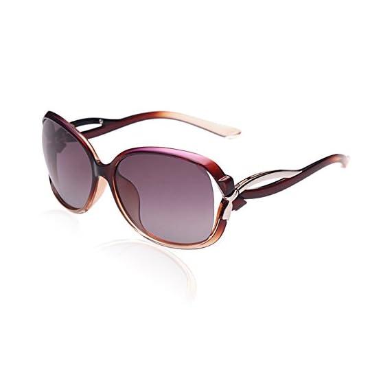 390fc076ed DUCO Women s Stylish Polarized Sunglasses Star Glasses 100% UV Protection  2229