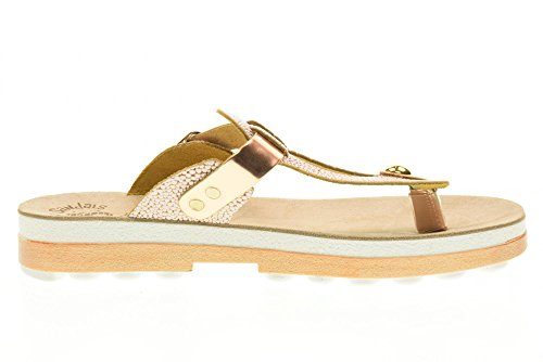 FANTASY SANDALS Schuhe Flip Flops Frauen S9004 Mirabella Pink