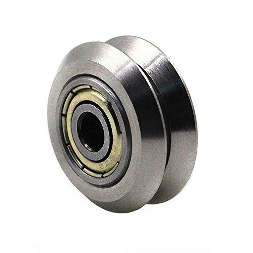 Ake Double V Wheel Groove Roller Gear Replacement Part Repair Accessory für 3D-Drucker -