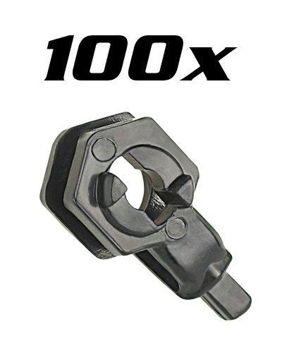 100 fixations B pour circuit à billes