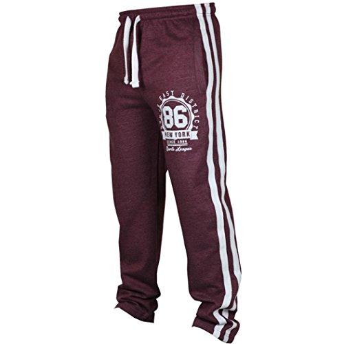 Paolian Pantalon de Sport de la personnalité des Hommes de Mode, Pantalons décontractés de Couleur Unie de Cordon imprimé