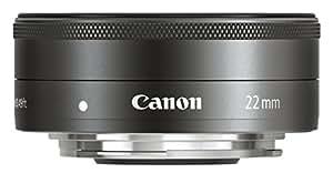 Canon EF-M 22mm 1:2 STM Pancake-Objektiv (43mm Filtergewinde) schwarz
