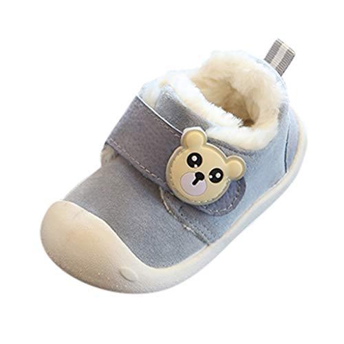 Sanahy New Baby Plus Samt verdicken Sportschuhe Jungen weichen Boden Baotou Schuhe für Kleinkind Mädchen warm halten Baumwollschuhe