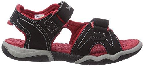 Timberland Active Casual Sandal Ftk_adventure Seeker 2 Strap Sandal, Sneakers basses mixte enfant Noir - Noir