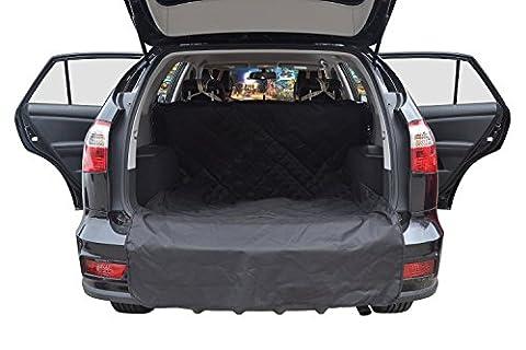 Pettom Auto-Sitzabdeckung hundedecke hunde autositz Wasserdicht Auto-Boot-Liner-Schutz, Anti-Rutsch-Durable SUV Trunk