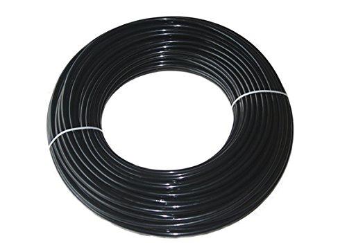 12mm x 10mm metrisches schwarz Nylon Flexible Pneumatische Rohr/Schlauch-für Air Line, Öl, Kraftstoff-5m Länge -