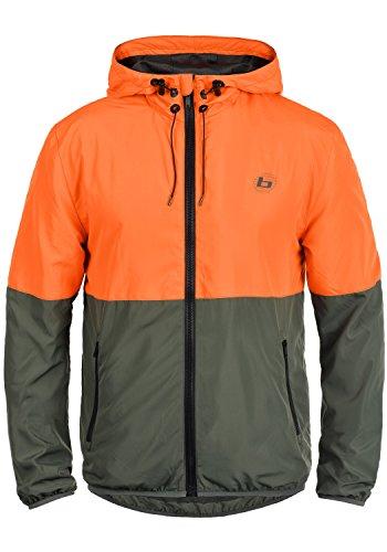 13abc794087428 BLEND ATHLETICS Minato Herren Jacke Sportjacke Trainingsjacke aus  hochwertiger Materialqualität