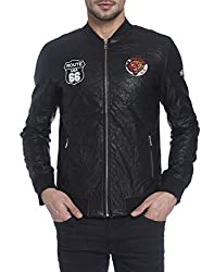 Jack & Jones Mens Jacket (12121293_Black_XX-Large)