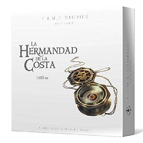Asmodee - T.I.M.E. Stories, La Hermandad de la Costa (SCTS08ES)