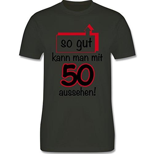 Geburtstag - 50. Geburtstag So gut kann man aussehen - Herren Premium T-Shirt Army Grün