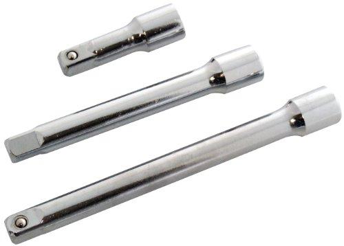 Am-Tech 3 Stück 1 / 2 Zoll Short Extension Bar Set, I3900