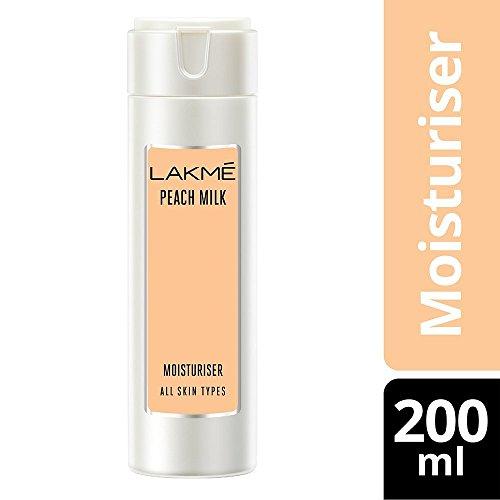 Glamorous Mart - Lakme Peach Milk Moisturizer Body Lotion - 200ml - Loreal Body Shampoo