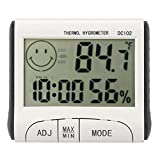 we3 Dc102 Kitchen Timers Digital Thermometer Hygrometer LCD Indoor Digital Thermometer Hygrometer Temperature