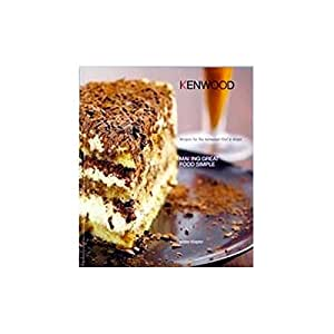 - livre de recettes en anglais robot menager kenwood kmc500 chef