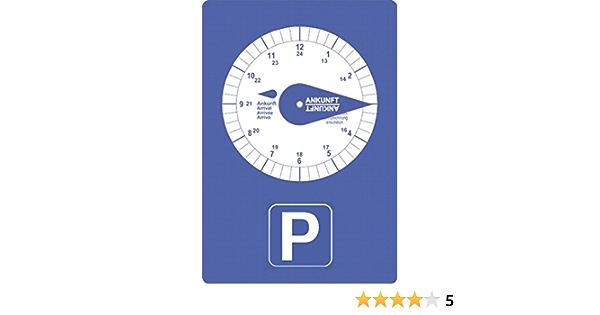 carstyling XXL Parkscheibe mit Eiskratzer ~ schneller Versand innerhalb 24 Stunden ~