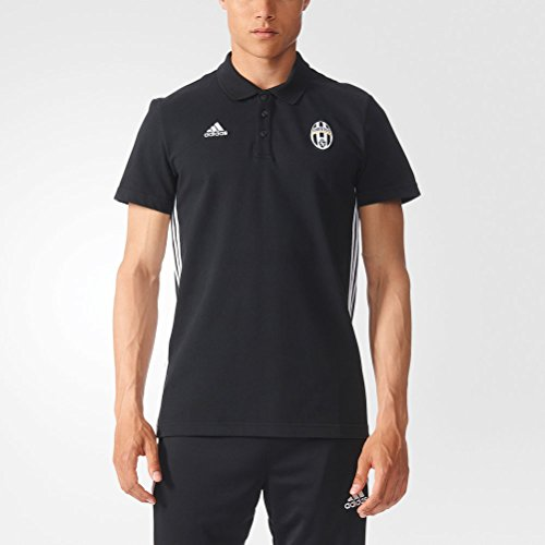 adidas-juve-3s-polo-polo-shirt-men-m-black-white