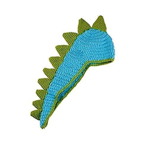Sharplace Baby Fotoshooting Kostüm Strick Fotografie Prop dinosaurier Kostüm Neugeborene Geschenk - Dinosaurier, M