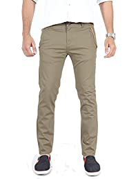 100% Cotton Lycra Slim Fit stretchable Mens CHEOPS by Uber Urban