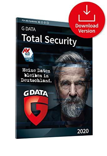 G DATA Total Security 2020 | 1 Gerät | 1 Benutzer - 1 Jahr | PC, Mac, Android, iOS | Aktivierungscode per Email