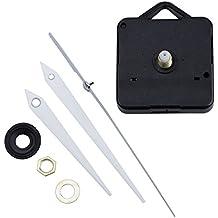 SODIAL(R) Maquinaria Reloj Mecanismo Horario Cuarzo Minutero Segundero Blanco
