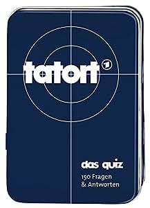 Moses Verlag MOS00806 Kartenspiel Tatort-Das Quiz, 150 Fragen und Antworten
