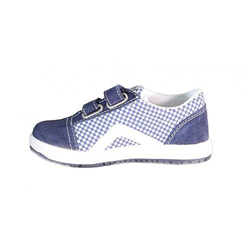 Naturino Sport 467 jungen, wildleder, sneaker low Blau