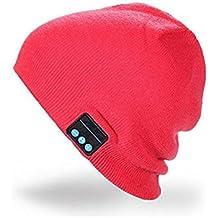 Outdoor Beanie Hat Bluetooth - Chapeau Chapeau de Musique Chaude avec  Bluetooth Haut-parleurs St dc921e2d05d