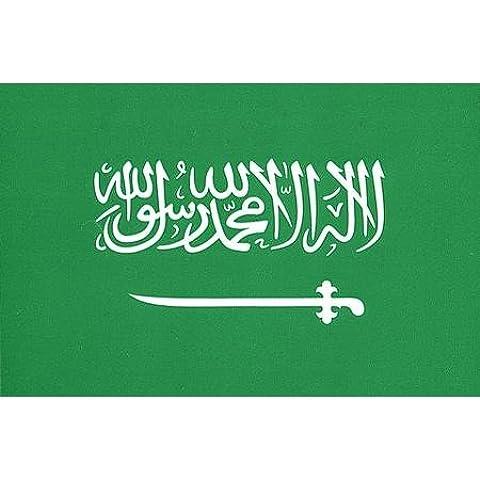 Vinyl Decal- Saudi Arabia Flag Sticker - 3.5