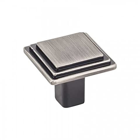 Elements Calloway 1 1/8 Overall Length Cabinet Knob in Brushed Pewter (351BNBDL) by Elements (Brushed Pewter Knob)