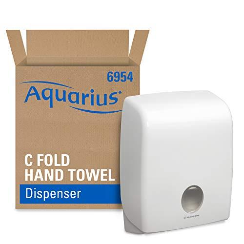 AQUARIUS* Spender für C-gefaltete Formathandtücher (Art.-Nr. 6954) – weiß